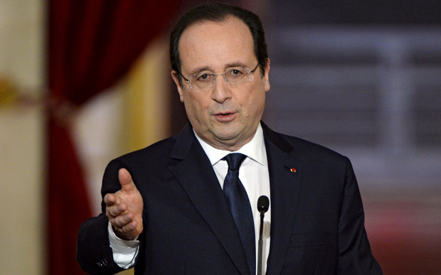 "Francois Hollande: ""We are in this for the long haul."""