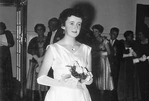 Beatrice as debutante 1958