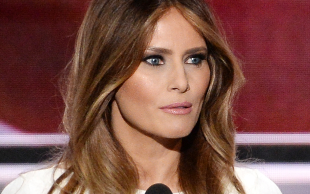 Melania Trump spoke on 19 July (NZT) at the Republican National Convention in Ohio.