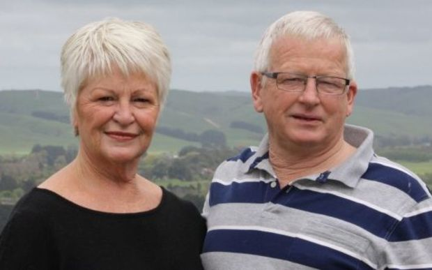 Alison and Graeme Franklin, owners of the Black Stump Cafe and Harrows Restaurant in Pahiatua.