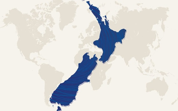 New Zealand Tops Global List For House Price Rises Radio New - World map new zealand