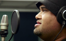 Rizvan Tu'itahi uses the Tongan language in his music as a way to keep it alive.
