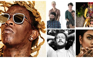 Young Thug, Preoccupations, Aaradhna, Orchestra of Spheres, Bon Iver