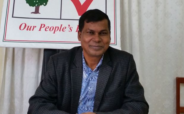 NFP leader Biman Prasad.
