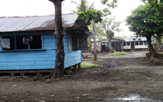 Sogi village in Samoa being relocated due to climate change