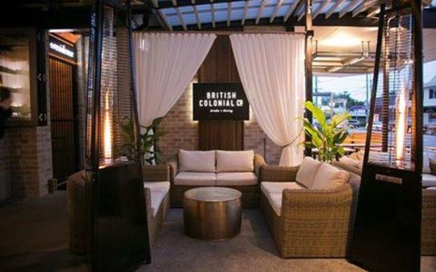 Aus restaurant celebrates 'stylish days' of colonialism