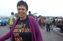 Jocelyn Millard was among those on the peace hikoi.