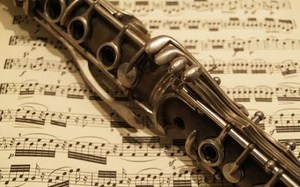 Clarinet on music