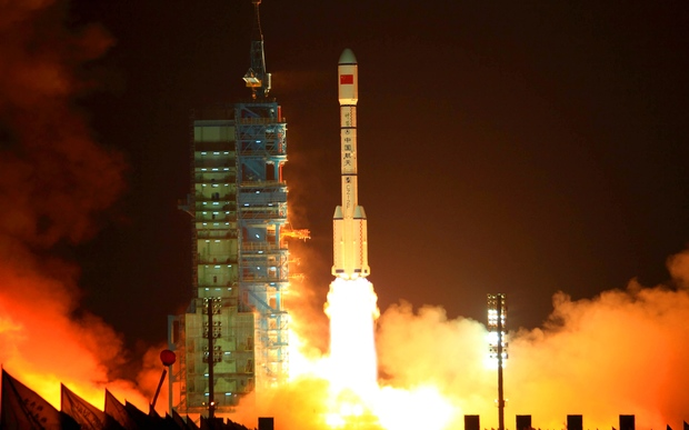 China launched Tiangong-1 in 2011