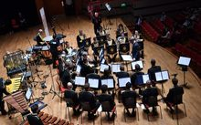Wellington Brass Band at Symphony Hall Birmingham 2016