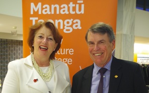 The Hon. Maggie Barry and Ian McGibbon