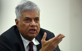 Ranil Wickremesinghe is currently visiting New Zealand for the first time.
