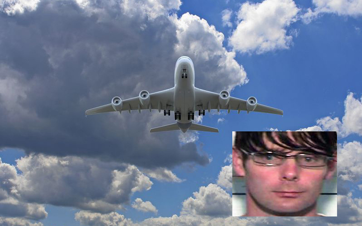 Phillip John Smith and a plane