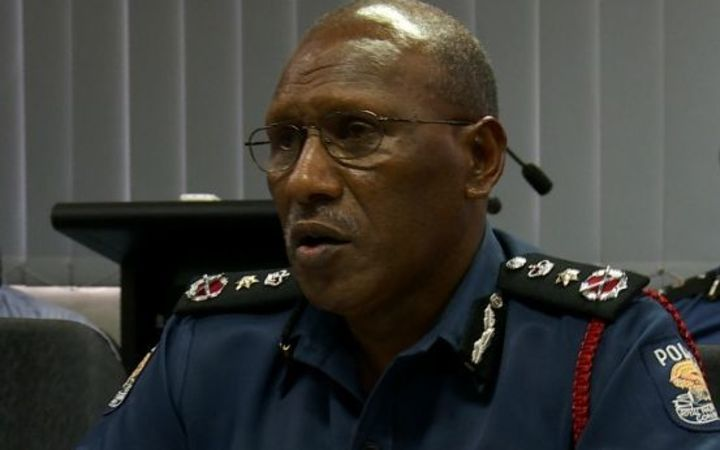 PNG Police Commissioner, Gary Baki.