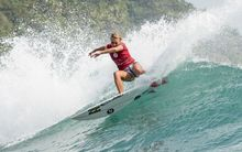 Ellie-Jean Coffey in action at the Hainan Pro event in China.