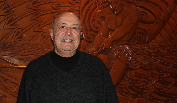 Professor Piri Sciascia was honoured for his contribution to the arts at this years Te Waka Toi Awards.