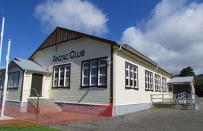 The ANZAC Hall in Featherston