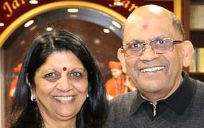 'Aunty Ranjna' Patel and her husband