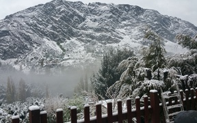Snow in Queenstown