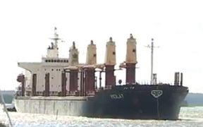 The bulk carrier 'Molat'.