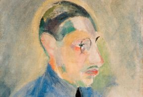 Portrait of Stravinsky by Robert Delaunay