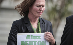 Members of Parliaments, lobists and supports gathered outside Parliament with petition to legalise cannabis, 17,000 people signed the petition. Rose Renton.