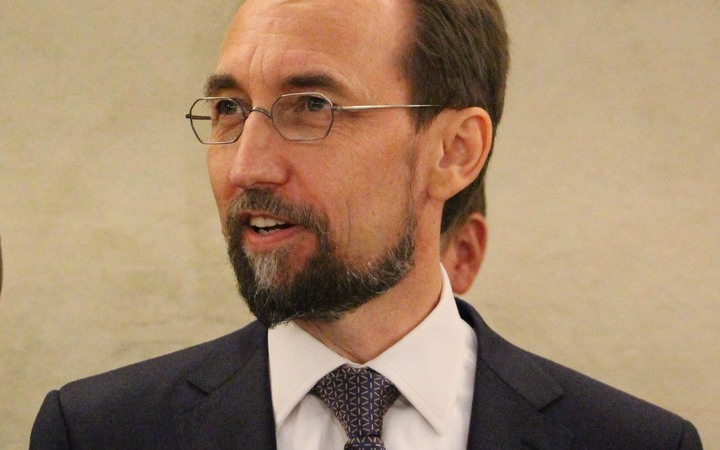 UN High Commissioner for Human Rights Zeid Raad al-Hussein