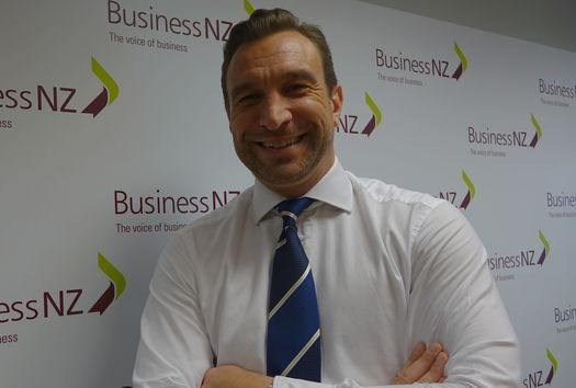 Business New Zealand Chief Executive, Kirk Hope at its offices in Wellington