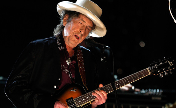 Bob Dylan performing in 2009.