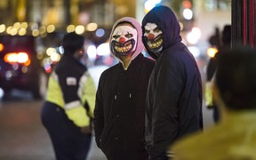 Incidents of people dressed as clowns and frightening people have been reported in several countries