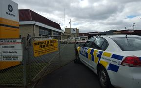 Police have cordoned off an area at St John in Whangarei.