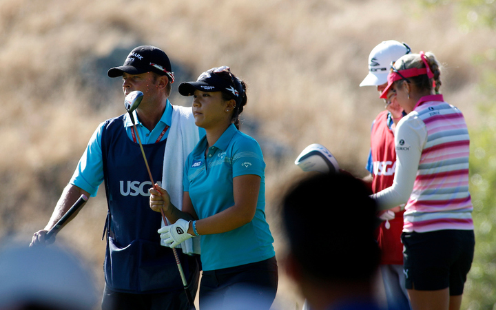 Lydia Ko and Jason Hamilton together earlier this year.