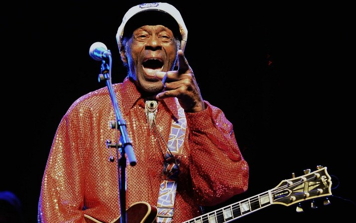 Chuck Berry is releasing a new album in 2017.