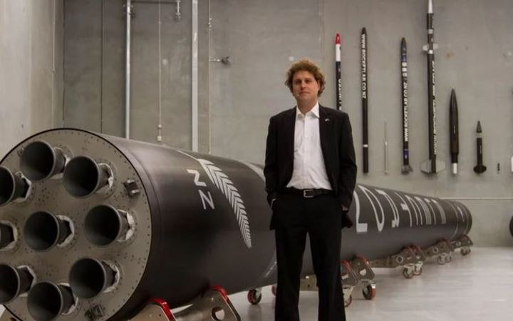 Rocket Lab CEO, Peter Beck. Photo from Rocket Lab website