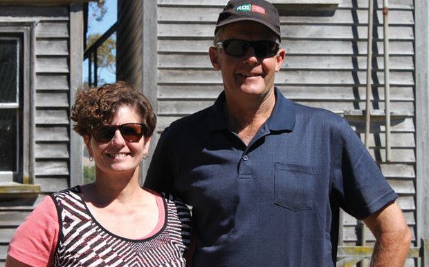 Wairarapa dairy farmers Leo and Rebecca Vollebregt