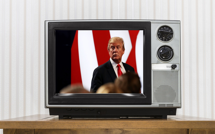 Donald Trump may be lining up for his own television channel if he loses the US presidential election.