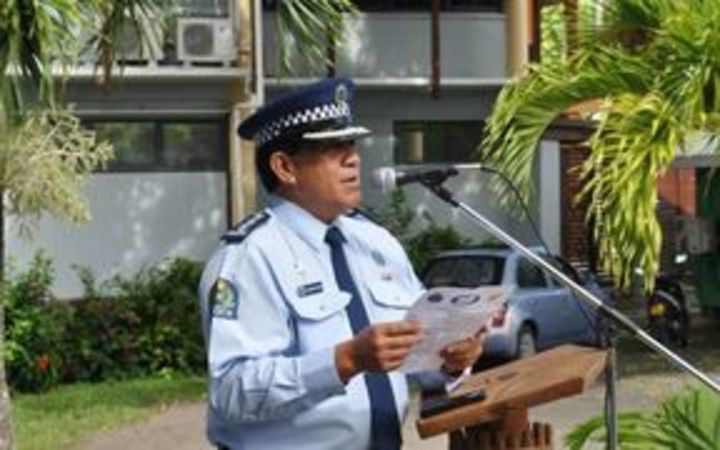 Cook Islands Police Commissioner Maara Tetava