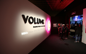 Volume: Making Music in Aotearoa exhibition at Auckland Museum