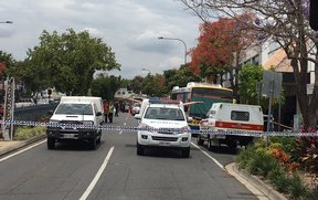 A homicide investigation has been launched in Brisbane after a horrific attack on a council bus driver.