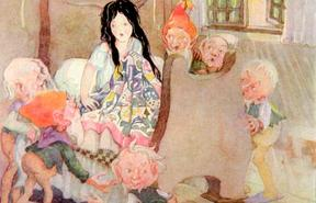 Snow White by Anne Anderson (1874-1930)