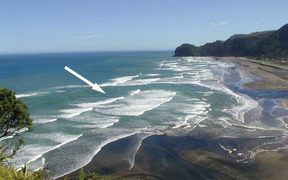 North Piha rip