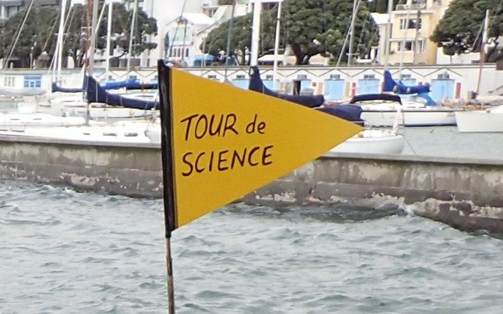 Tour de Science flag