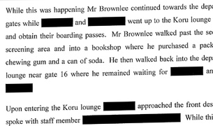 Details from the official investigation which took two years to see the light of day.