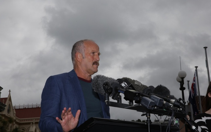 Gareth Morgan announcing his new political party, The Opportunities Party.