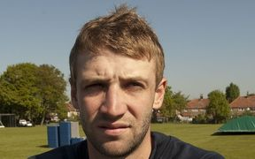 Phillip Hughes, with English County side Middlesex, 2009