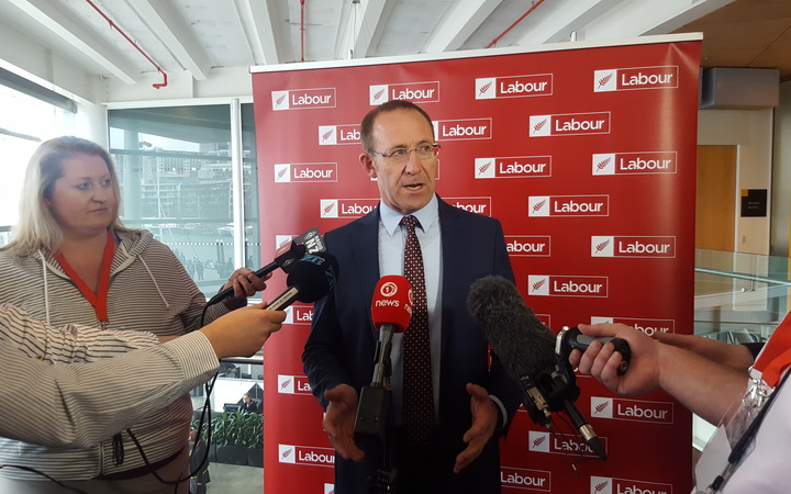 Labour leader Andrew Little ahead of the party's conference on 4 November 2016.