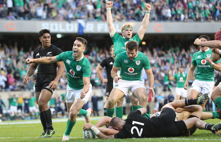 The best, and most operatic, tribute to Ireland's victorious rugby team