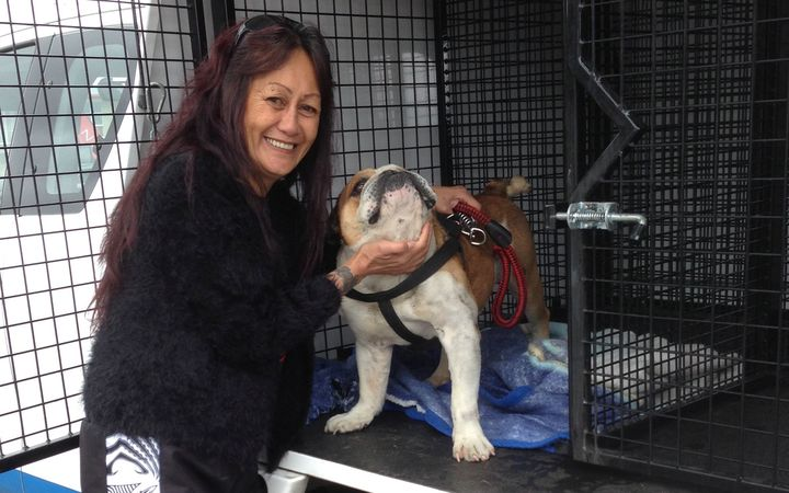 Bruizah was reunited with owner Rea Williams ten months after he went missing.