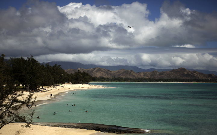 Kailua beach in Hawaii
