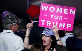 53 percent of white women voted for Donald Trump.
